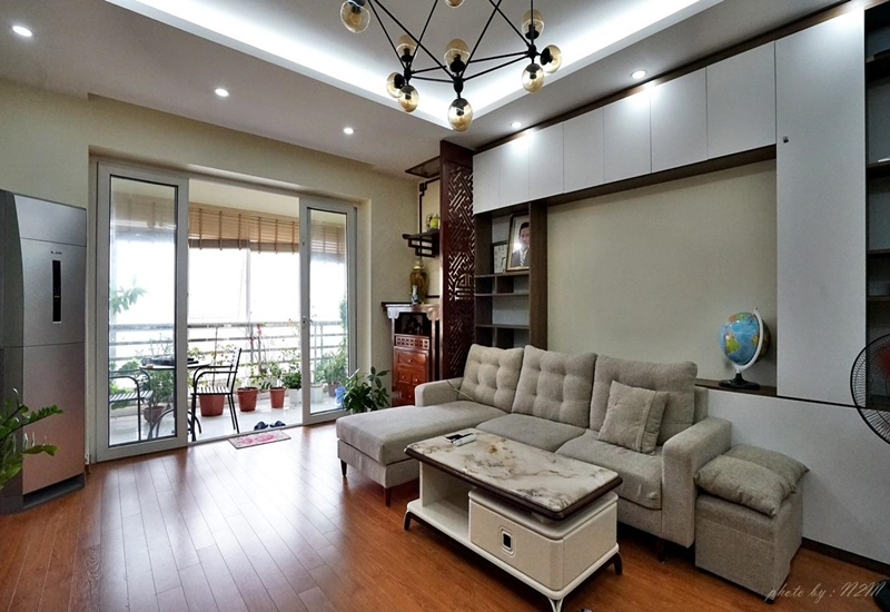 Balcony apartment for rent with 03 bedroom on Ngoc Khanh, Ba Dinh