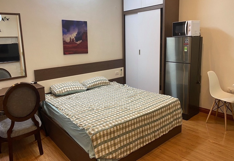 Studio for rent with 01 bedroom in Thai Thinh, Dong Da