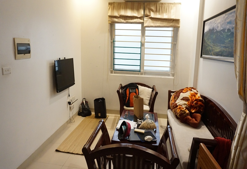 Apartment for rent with 01 bedroom in Au Co, Tay Ho