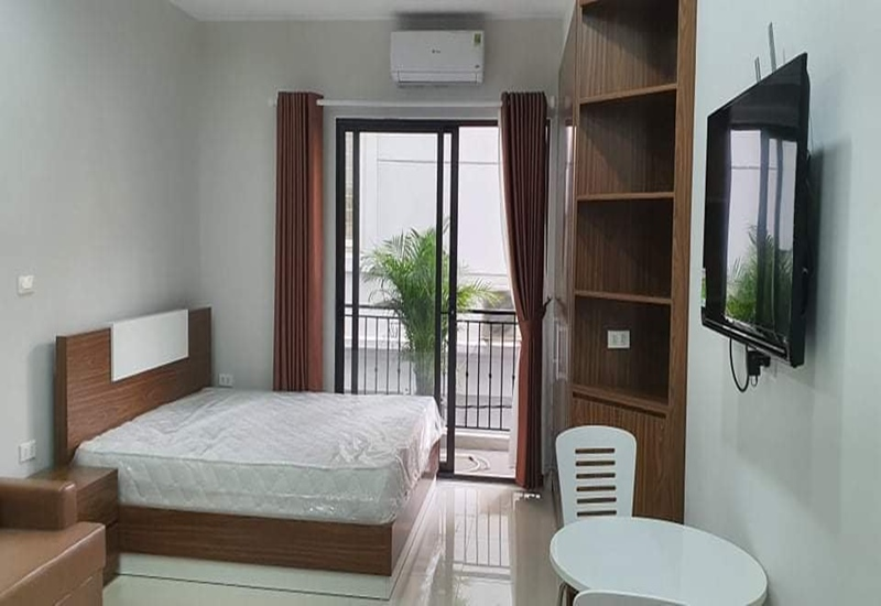 New studio for rent with 01 bedroom in Au Co, Tay Ho
