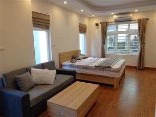 Cheap balcony studio for rent in Au Co, Tay Ho, fully furnished