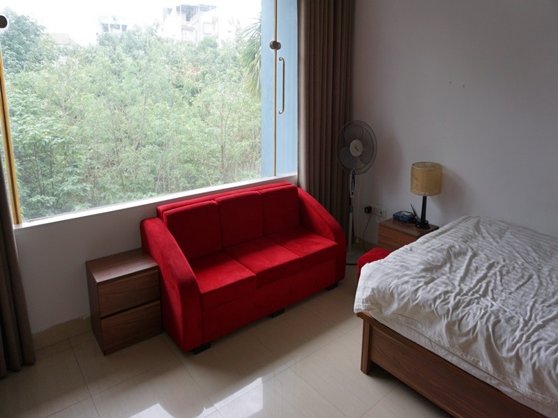 Studio for rent with 01 bedroom in Xuan Dieu, Tay Ho