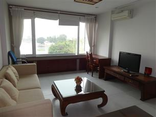 Lake view apartment for rent in Truc Bach, Ba Dinh, 01 bedroom