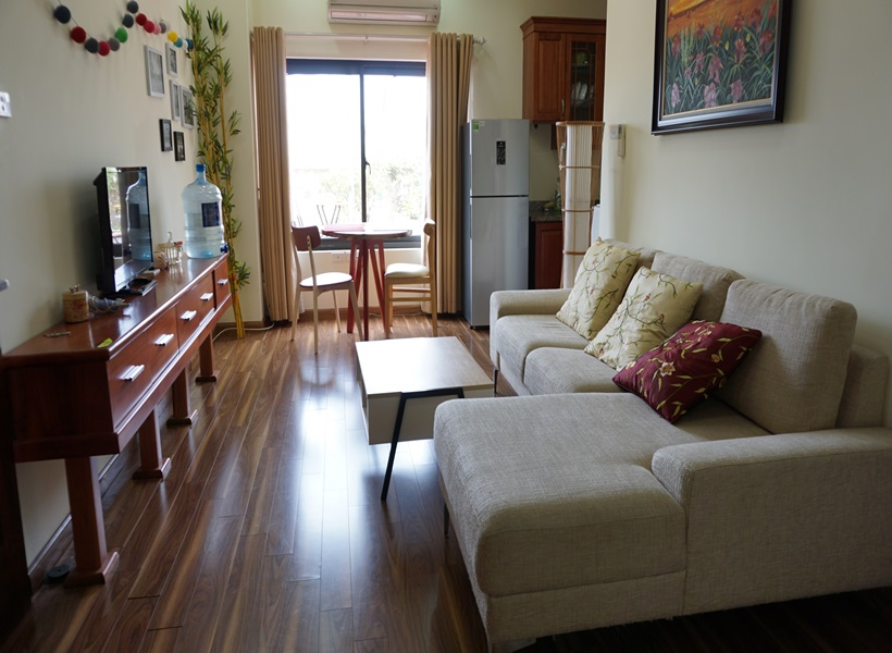 Nice apartment with 02 bedrooms for rent in Phan Huy Chu, Hoan Kiem