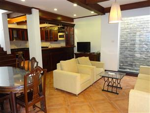 Garden house with 04 bedrooms combined with 04 bathrooms for rent in Tay Ho