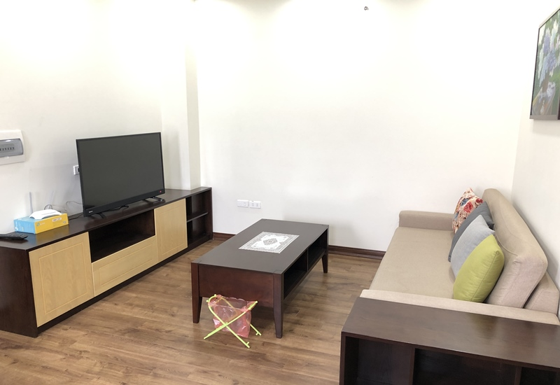 Apartment for rent with 01 bedroom in Tran Quy Cap, Dong Da