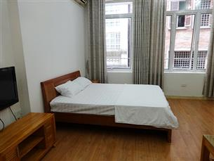 Nice studio for rent in An Duong, Tay Ho, 01 bedroom, fully furnished