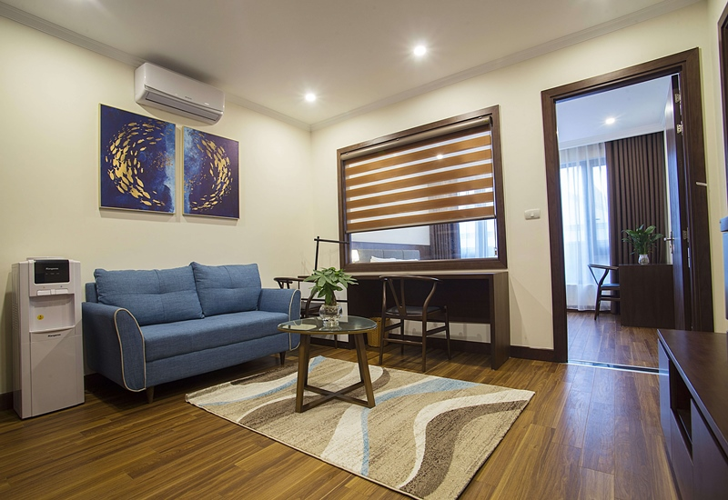 Nice apartment for rent with 01 bedroom in Tran Quoc Hoan str, Cau Giay