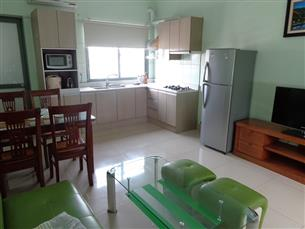 Big balcony apartment for rent with 02 bedrooms in Lang Ha, Dong Da
