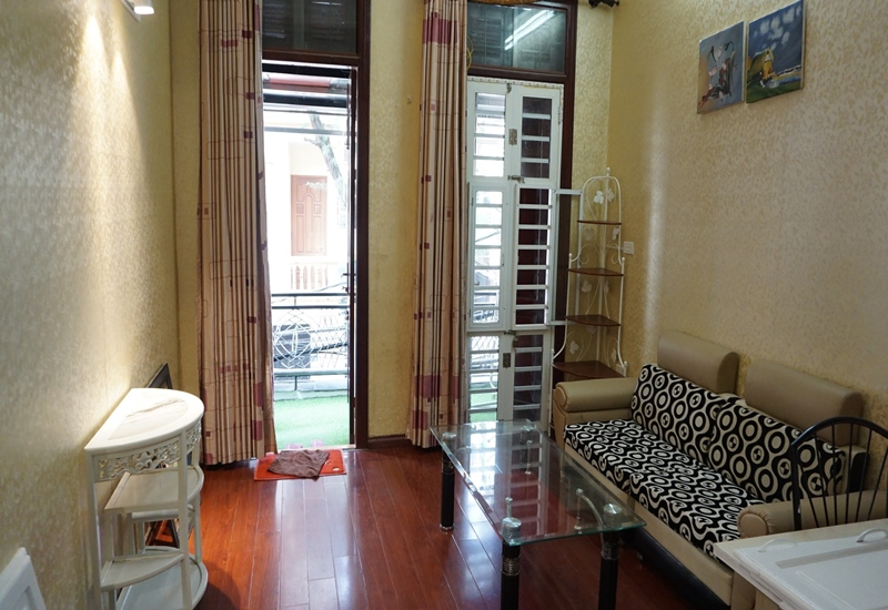 Apartment for rent with 01 bedroom in Van Ho, Hai Ba Trung