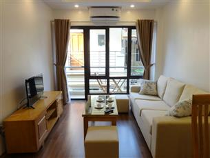 Balcony 01 bedroom apartment for rent in Hoang Quoc Viet, Cau Giay