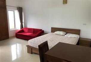 Bright studio for rent with 01 bedroom in Au Co, Tay Ho