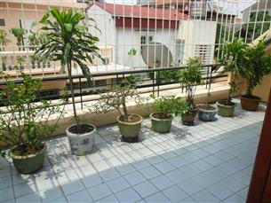 House for rent with 04 or 05 bedrooms in Doi Can, Ba Dinh