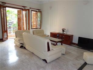 Swimming pool villa for rent with 4 bedrooms in Tay Ho