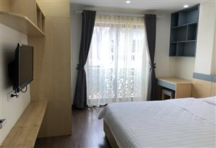Apartment for rent with 01 bedroom on Tran Quy Cap, Dong Da