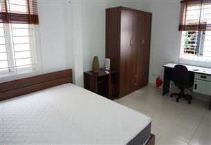 Garden apartment for rent with 01 bedroom in Hoang Hoa Tham, Ba Dinh