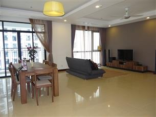Big size ROYAL CITY apartment for rent with 03 bedrooms, fully furnished in Thanh Xuan