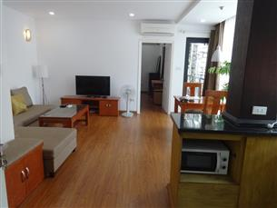 Balcony apartment with 01 bedroom for rent in Nguyen Cong Tru, Hai Ba Trung district