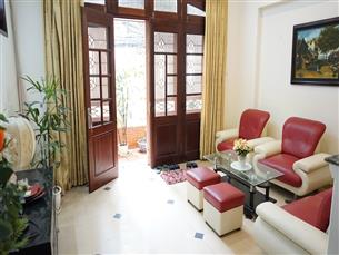 Bright house for rent with 04 bedrooms & 01 workingroom in Kim Ma, Ba Dinh