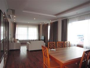 Nice serviced apartment with 03 bedrooms for rent in To Ngoc Van, Tay Ho