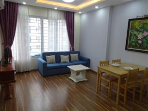 Balcony nice apartment with 01 bedroom for rent in Phan Huy Chu, Hoan Kiem